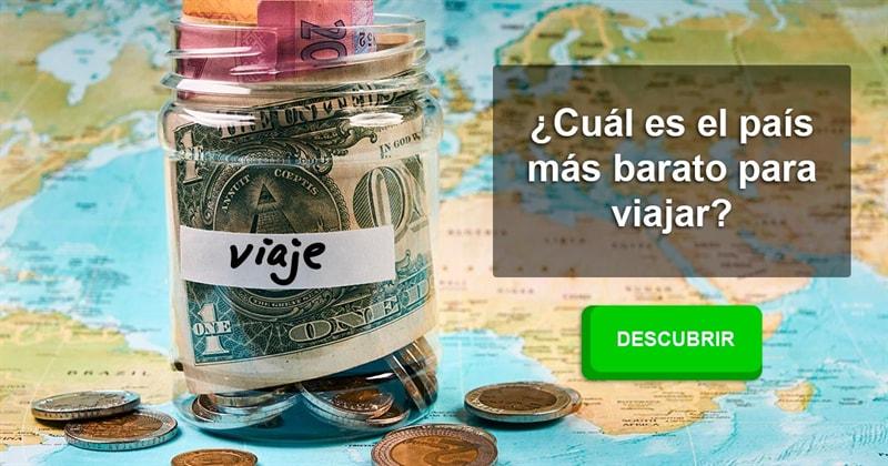 Geografía Historia: ¿Cuál es el país más barato para viajar?