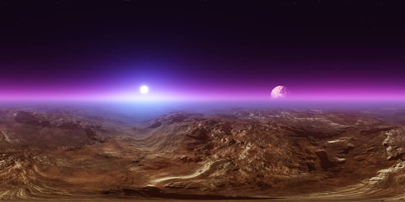 Geography Story: #2 Sunsets on Mars have a blue color