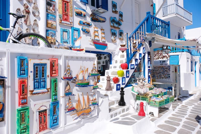 Geography Story: #2 Ornate House in Mykonos, Greece