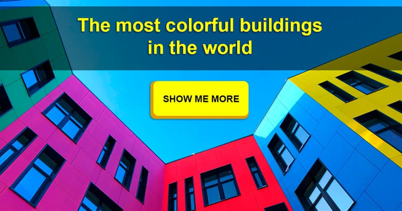 Geography Story: 10 colorful houses from all over the world will brighten your day