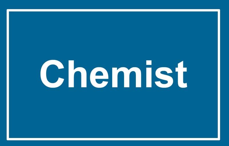 Society Story: Chemist