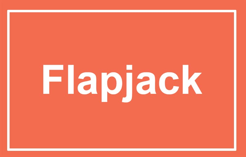Society Story: A flapjack
