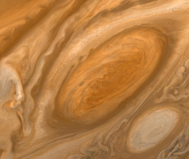 Science Story: #4 The Great Red Spot, a persistent high-pressure region in the atmosphere of Jupiter