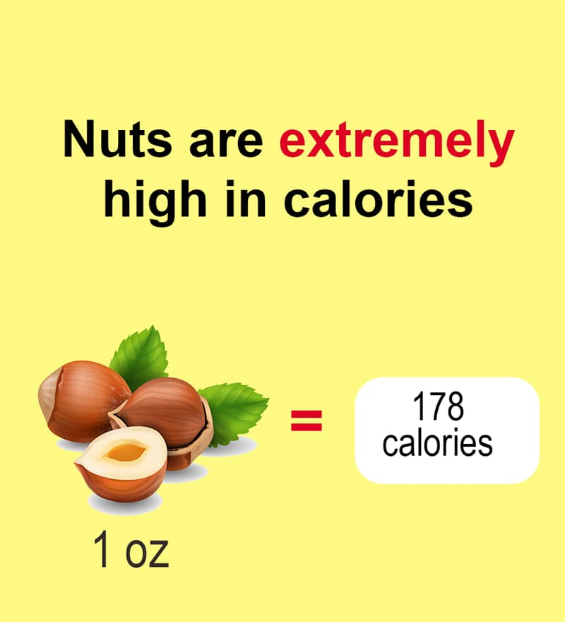 Nature Story: Nuts are extremely high in calories