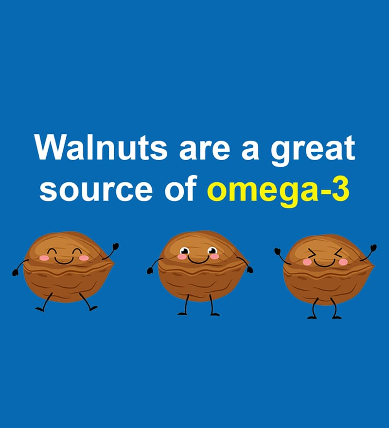 Nature Story: Walnuts are a great source of omega-3