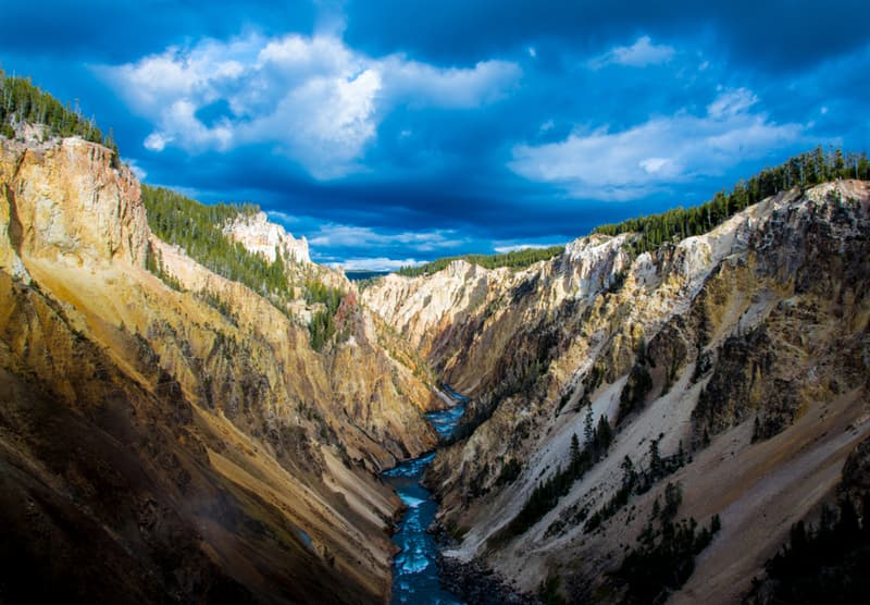 Geography Story: #5 Yellowstone National Park, Wyoming