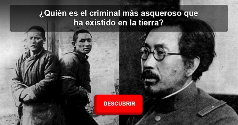 Historia Historia: ¿Quién es el criminal más asqueroso que ha existido en la tierra?