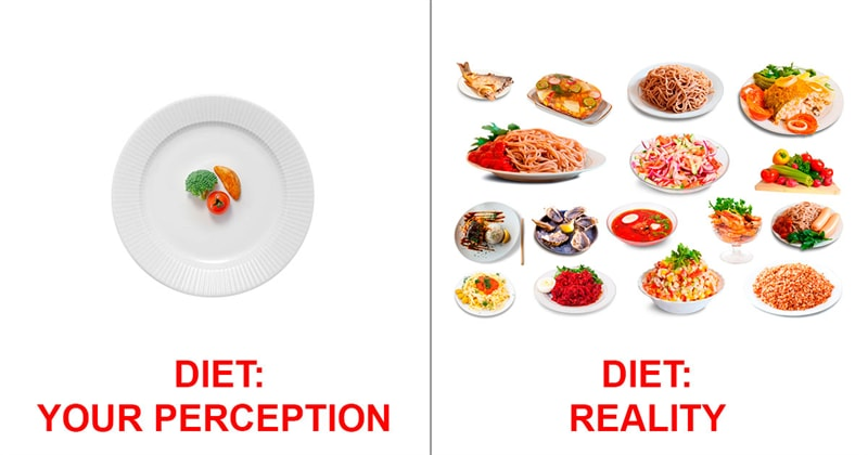 Personality Story: #5 Diet: perception and reality
