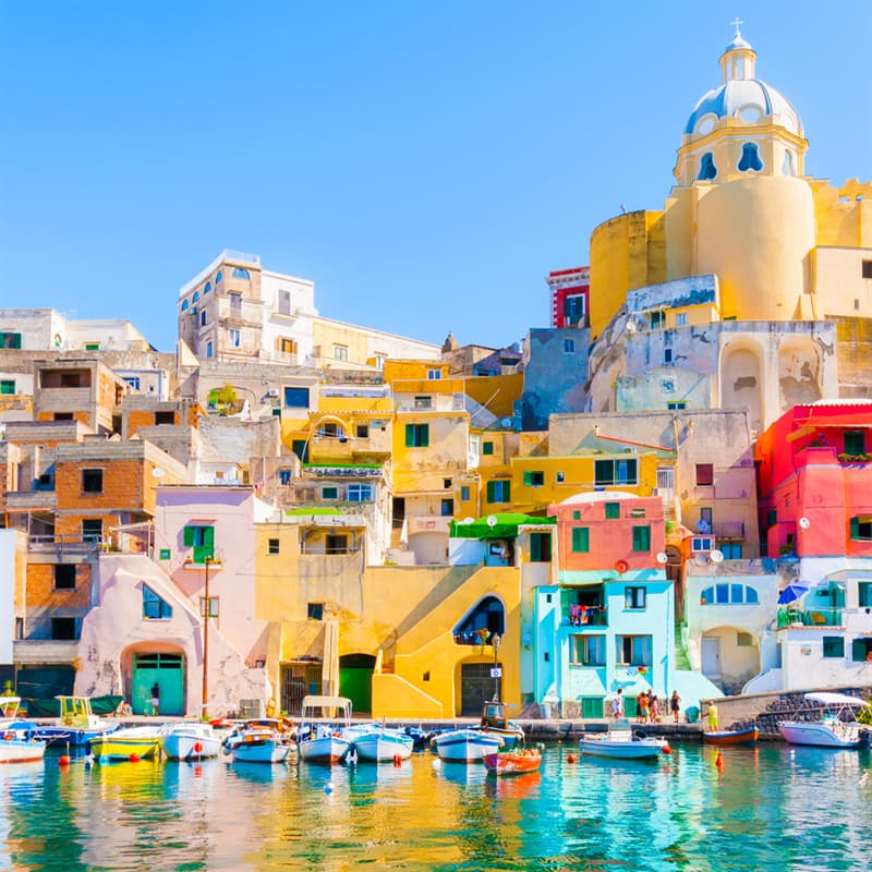 Geography Story: #1 Procida, Italy