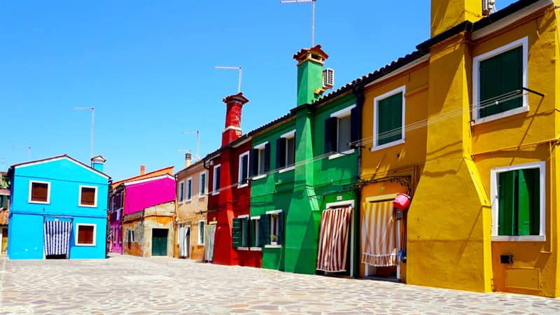 Geography Story: #5 Burano, Italy