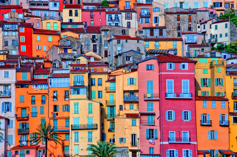 Geography Story: #7 Provence village Menton, France