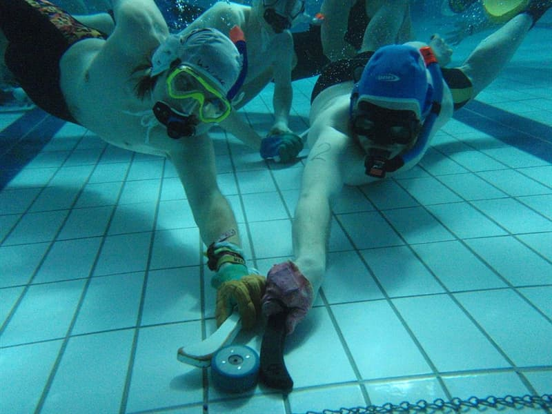 Culture Story: #1 Underwater hockey or Octopush (UK)