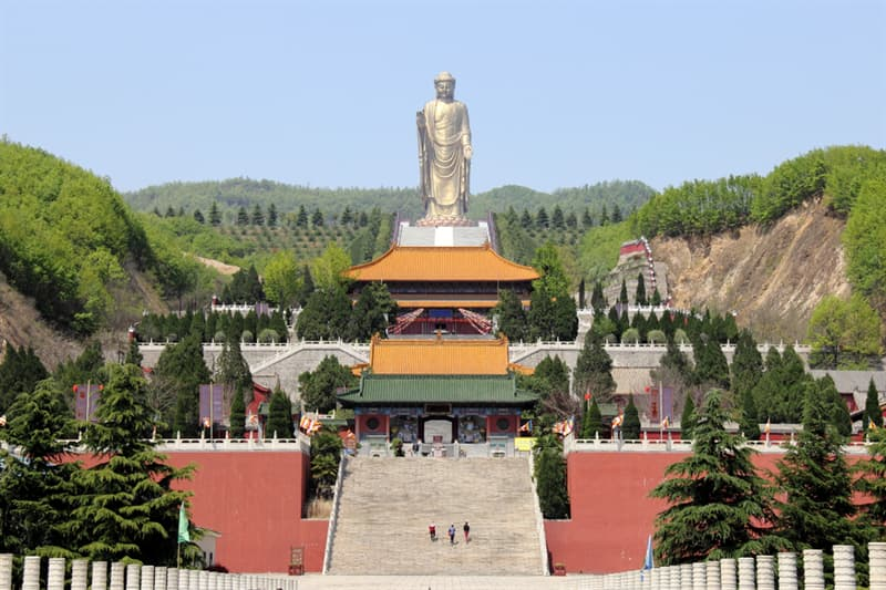 Geography Story: #2 The Spring Temple Buddha, China