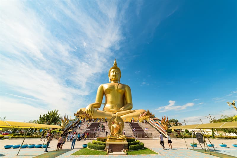Geography Story: #7 The Great Buddha of Thailand