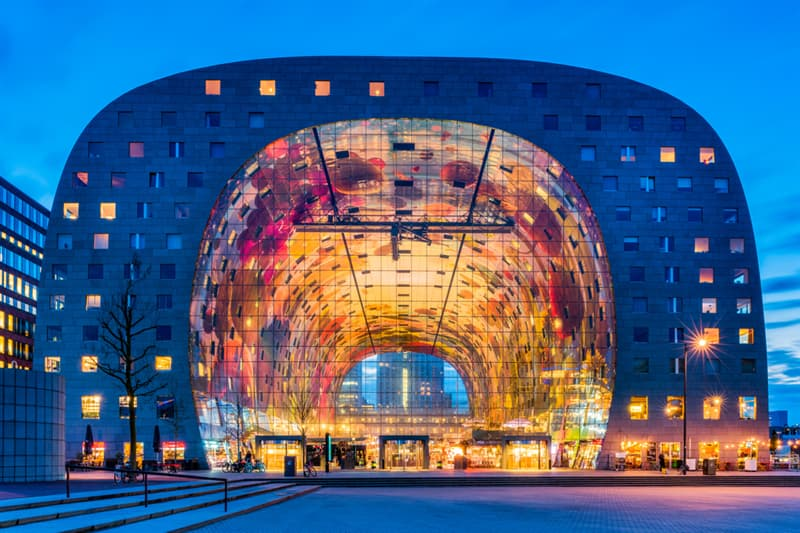 Geography Story: #3 Markthal in Rotterdam, Netherlands