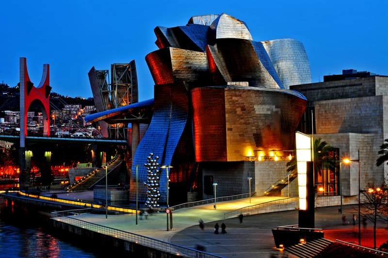 Geography Story: #4 The Guggenheim Museum in Bilbao, Spain
