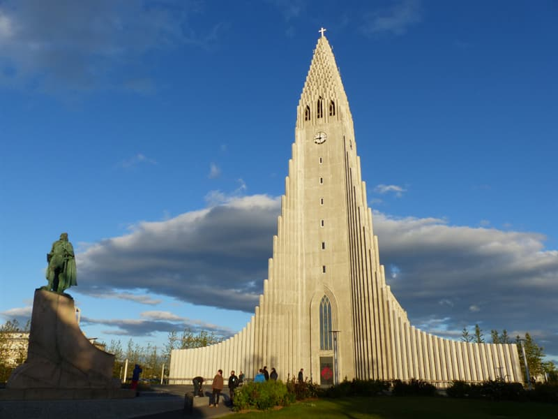 Geography Story: #5 Hallgrimur Church in Reykjavik, Iceland