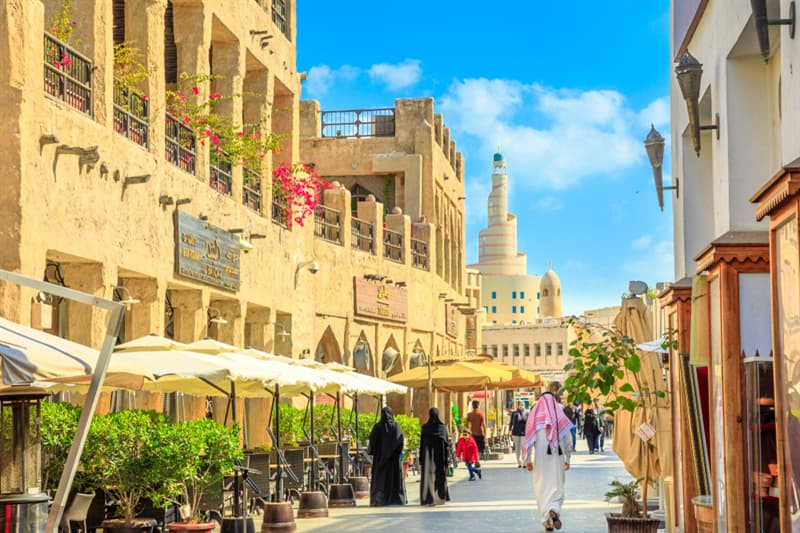 Geography Story: #3 Souq Waqif is a market place in Doha