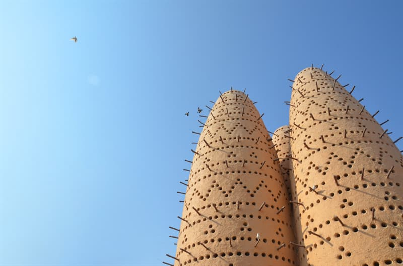 Geography Story: #7 Ancient dovecotes look like modern constructions