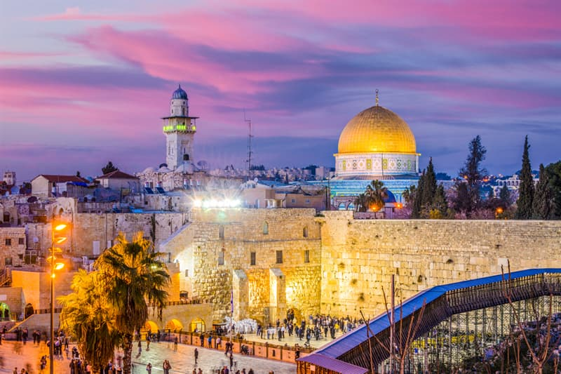 Geography Story: #5 Jerusalem, now claimed by Israel and Palestine