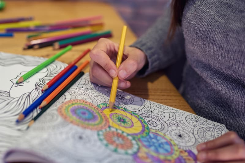 Culture Story: #8 Adult coloring book
