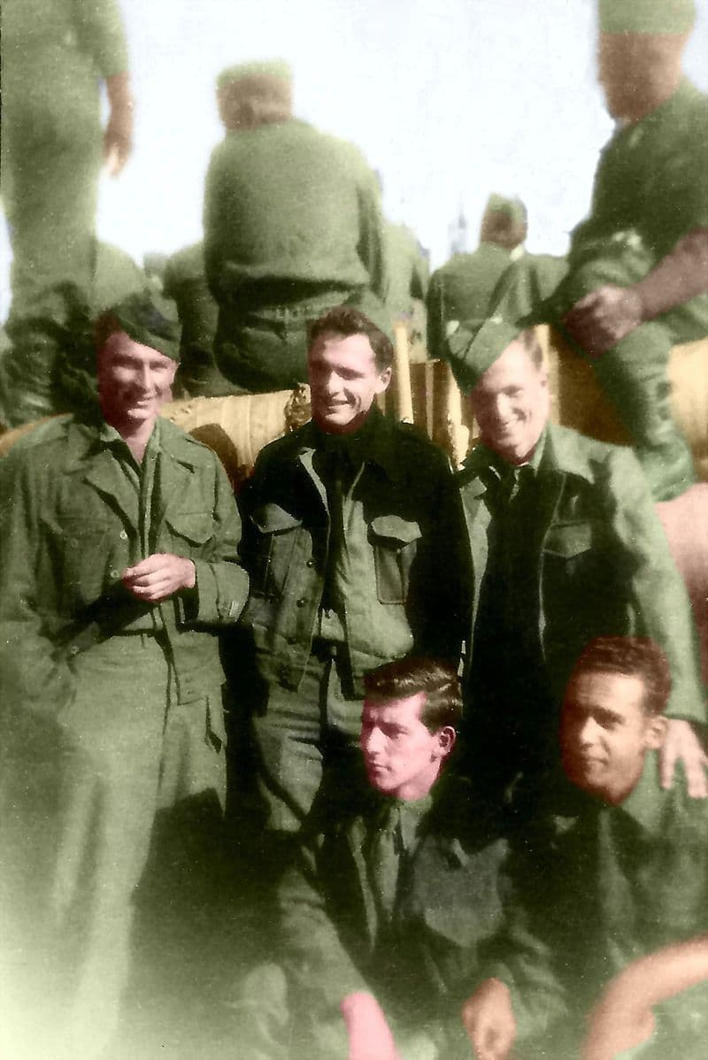 Culture Story: #3 American soldiers, 1945