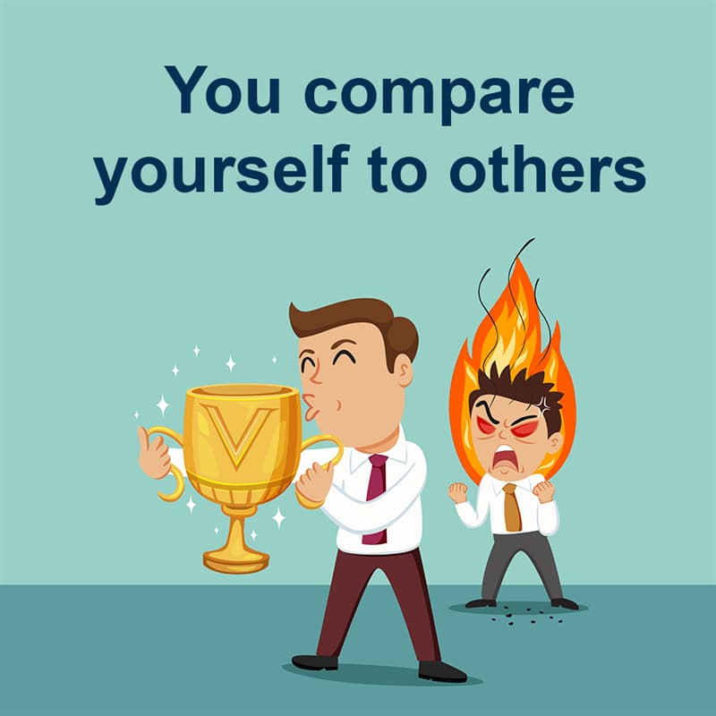 Society Story: You compare yourself to others