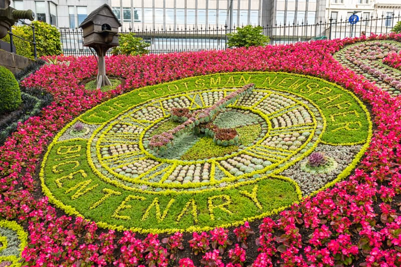 Geography Story: #8 Edinburgh floral clock