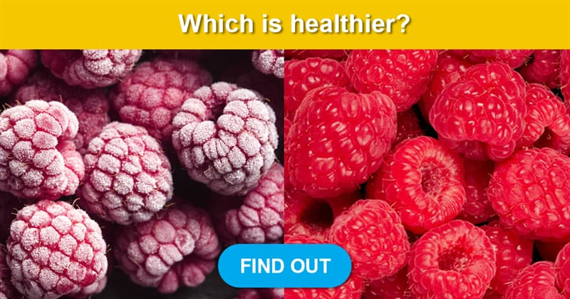 Science Story: Are frozen fruit and vegetables as healthy as fresh?