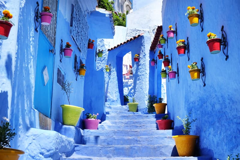 Geography Story: Chefchaouen - Morocco's Blue City #1