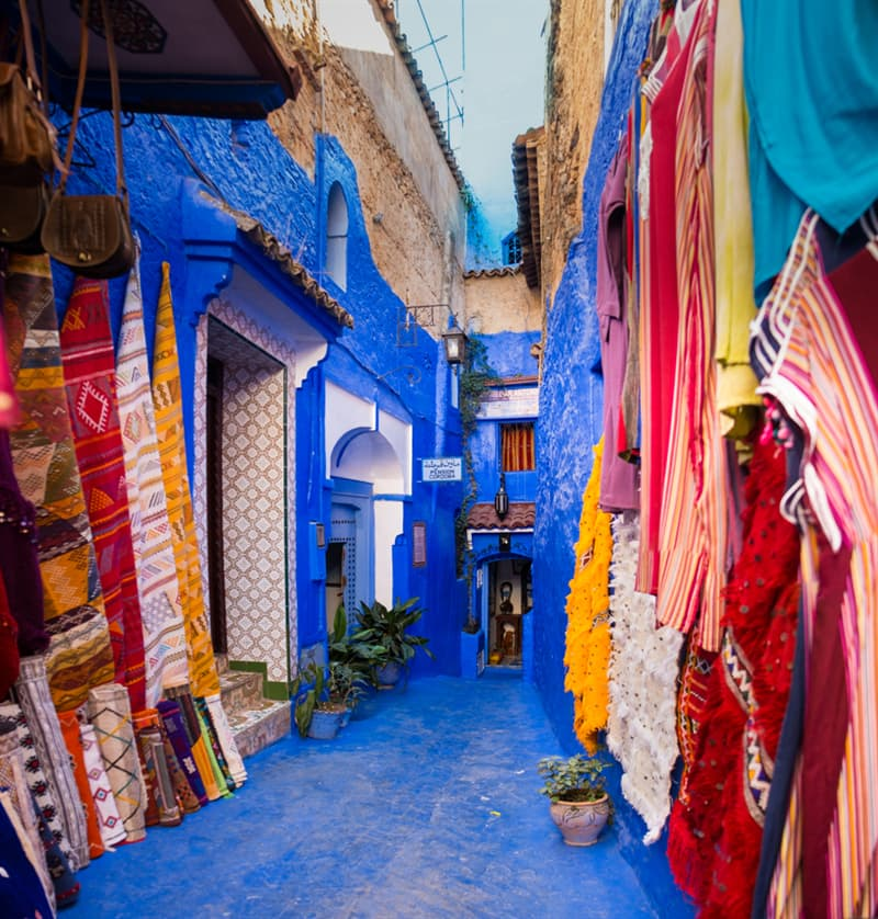 Geography Story: Chefchaouen - Morocco's Blue City #10