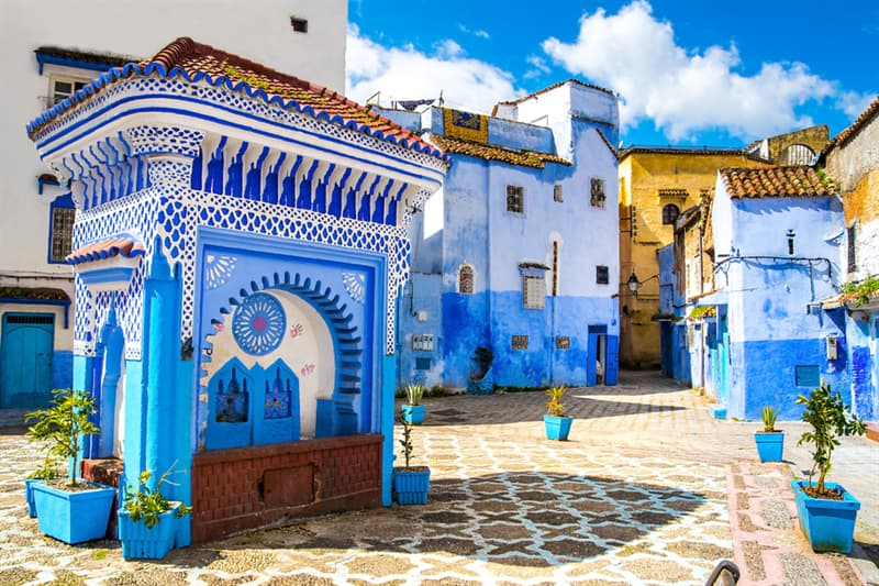 Geography Story: Chefchaouen - Morocco's Blue City #5