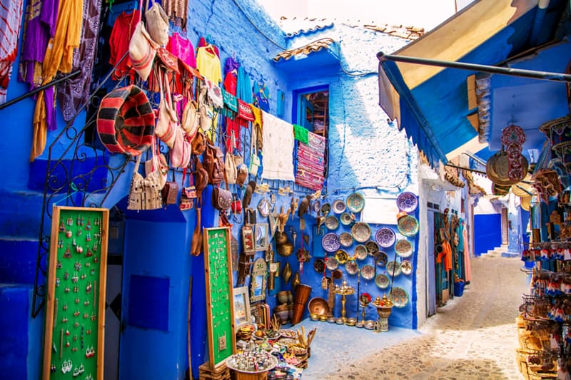 Geography Story: Chefchaouen - Morocco's Blue City #7