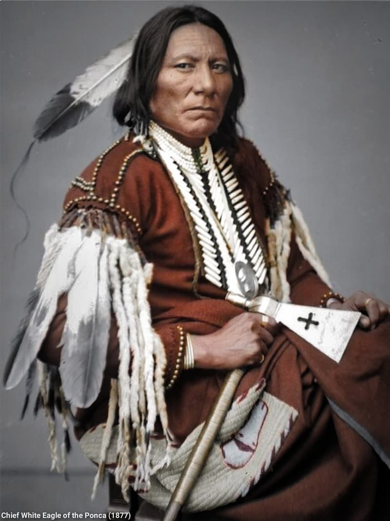 Culture Story: #1 Chief White Eagle of the Ponca, November 1877