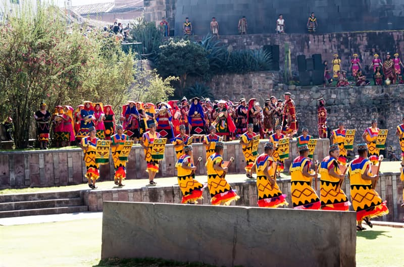 Culture Story: #7 Inti Raymi (the Sun Festival) in Cusco is selebrated in the middle of summer