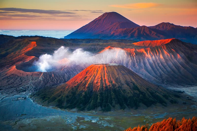 Geography Story: #1 Mount Bromo  is an active volcano in Indonesia