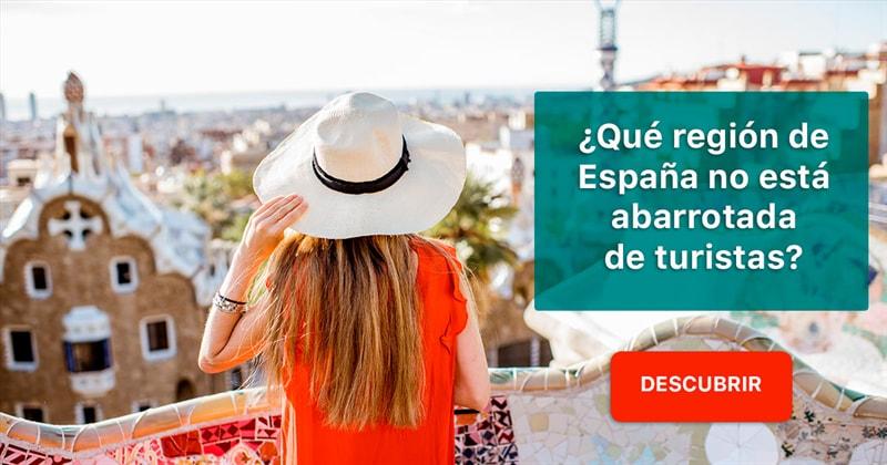 Geografía Historia: ¿Qué región de España no está abarrotada de turistas?