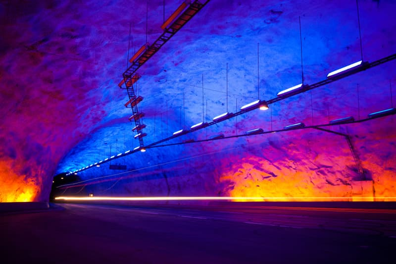 Geography Story: #1 Lærdal Tunnel is the world's longest road tunnel