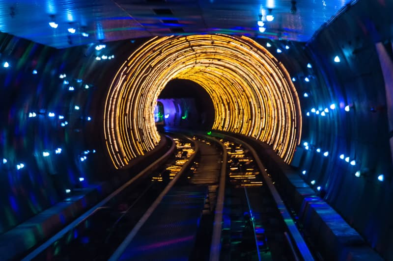 Geography Story: #4 Bund Sightseeing Tunnel has the best view