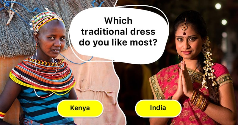Geography Story: The most beautiful and unique traditional dresses around the world