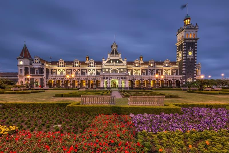 Geography Story: #10  Dunedin Railway Station, New Zealand