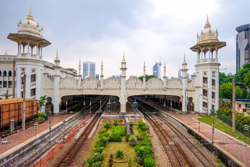 Geography Story: #12 Kuala Lumpur railway station, Malaysia