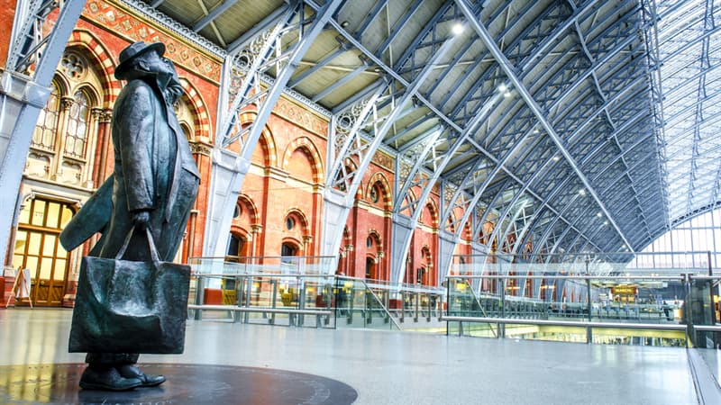 Geography Story: #6  London's St Pancras International train station, England