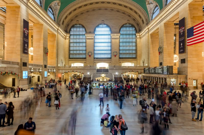 Geography Story: #8 Grand Central Terminal, New York, U.S