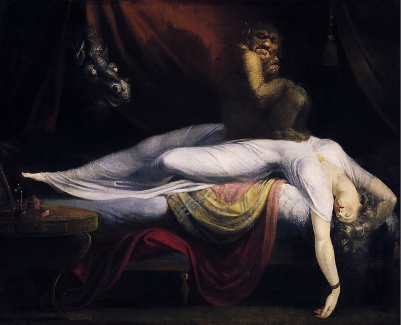 """Culture Story: #12 """"The Nightmare"""" by Henry Fuseli"""