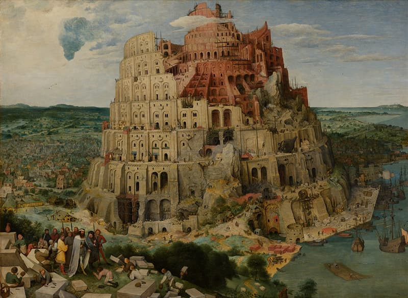 """Culture Story: #5 """"The Tower of Babel"""" by Pieter Bruegel the Elder"""