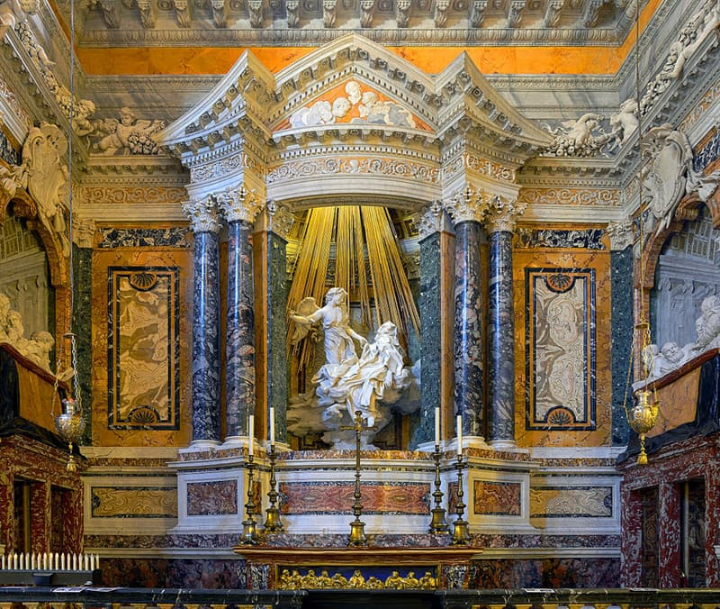"Culture Story: #10 ""Ecstasy of Saint Teresa"" by Gian Lorenzo Bernini"