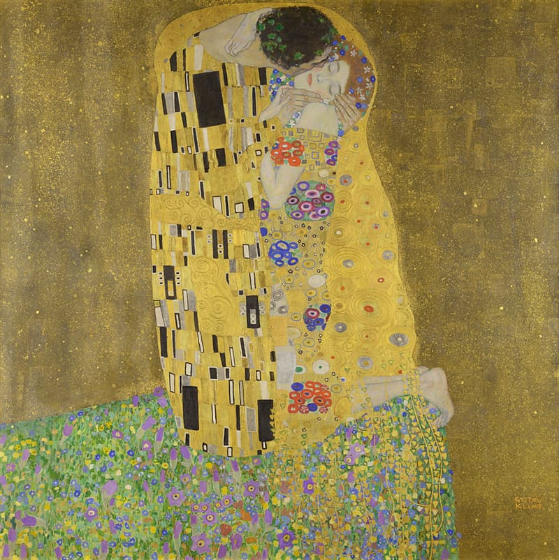 """Culture Story: #1 """"The Kiss"""" by Gustav Klimt"""