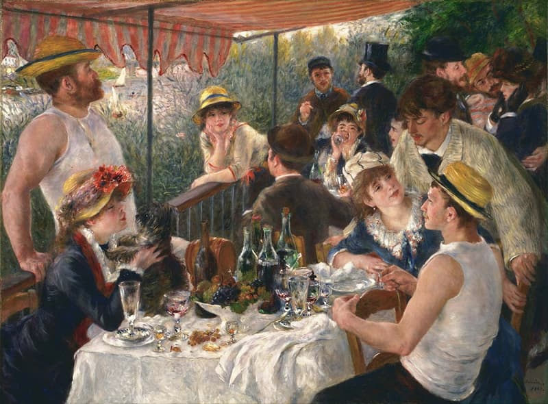 "Culture Story: #14 ""Luncheon of the Boating Party"" by Pierre-Auguste Renoir"