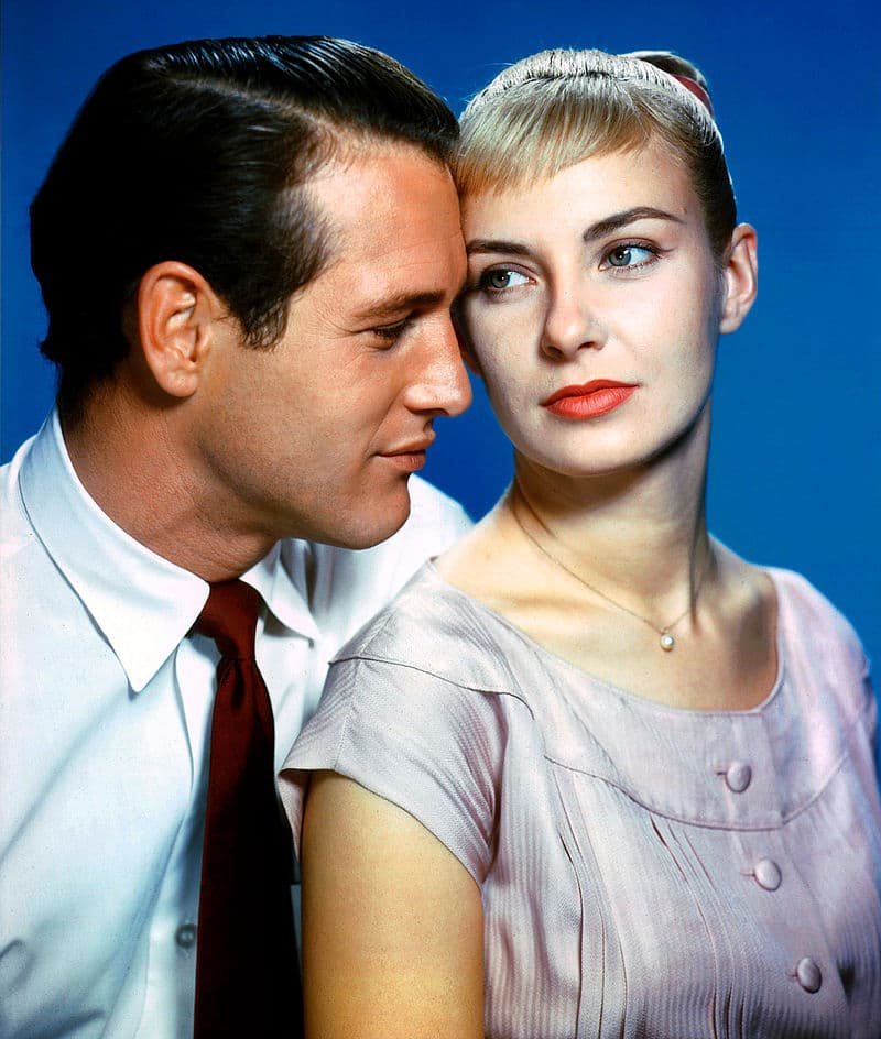 """History Story: #7 He and his second wife, Oscar-winning actress Joanne Woodward, were married for 50 years until Paul's death in 2008. Such enduring marriages were always a rare thing in Hollywood, and Paul used to say, """"I have steak at home. Why should I go out for a hamburger?"""""""